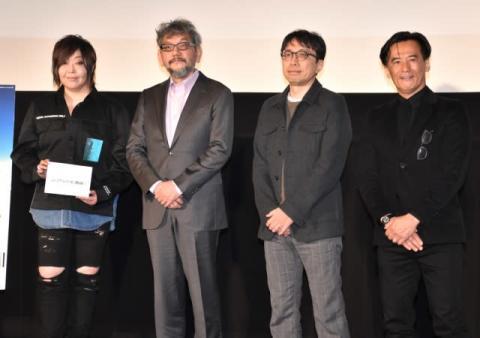 庵野秀明氏『エヴァ』舞台あいさつ初登壇の真意明かす ファンへ「お礼を言う最後のチャンス」