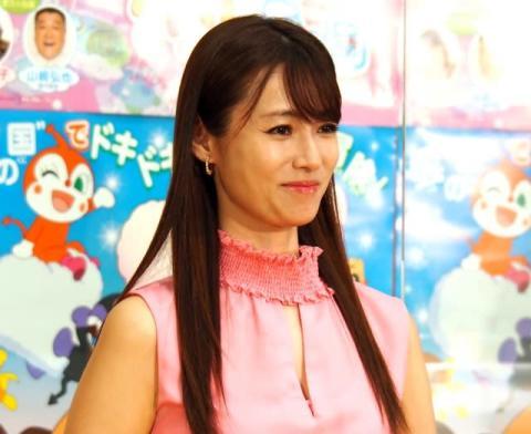深田恭子、私にとっての「アンパンマン」は「吉田沙保里さん!」