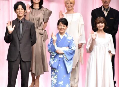 吉永小百合、松坂桃李は「きりんのように成長」 広瀬すずは「涼やかでかわいい」