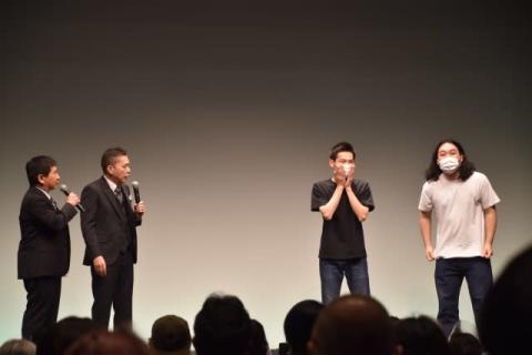 かが屋・加賀『タイタンライブ』で「一番いいネタ持ってきました」 賀屋は太田光と楽屋コント
