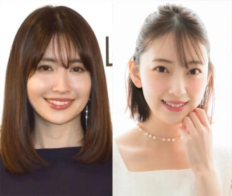 堀未央奈、こじはるとの2ショット公開 AKB48&乃木坂46のOG共演に「2人とも最強!」