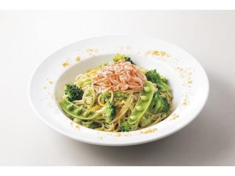 新緑の季節限定!「桜海老のスパゲティ~ブロッコリーソース~」が新登場