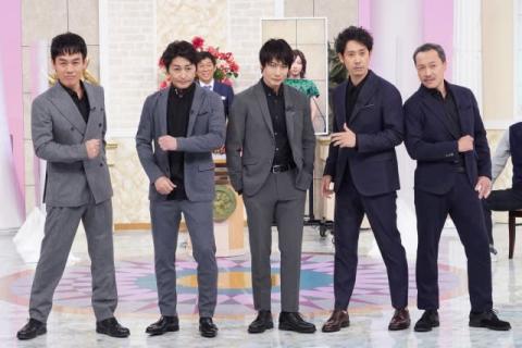 "TEAM NACS、5人そろって『行列』初登場 メンバーの事件を""ドラマ化"""