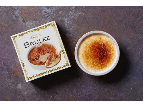 パリパリとした焼き目が香ばしいプレミアムアイス「BRULEE」リニューアル