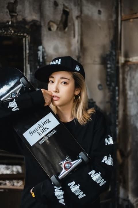 木下優樹菜さん、スポーツストリート系ブランド『MADE IN WORLD×#FR2』モデルに