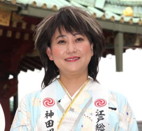 水谷千重子「スポニチちゃん」警戒で会見爆笑 関係ない質問に司会者制止