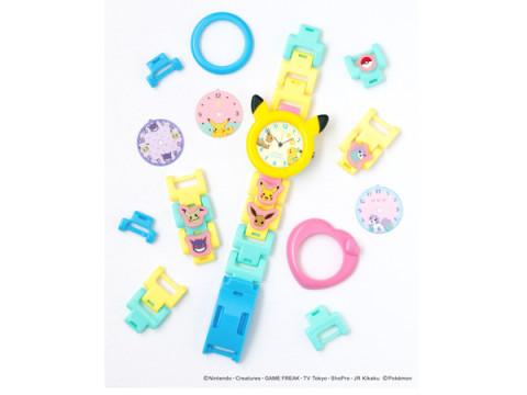 マイ腕時計がつくれる「MixWatch」にポケットモンスターが登場!