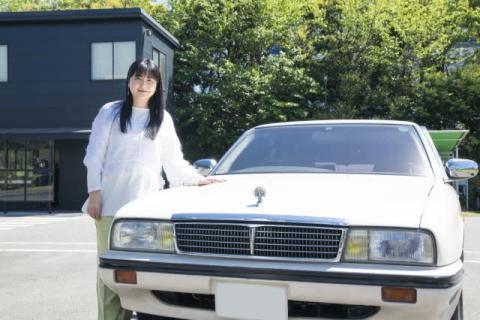 伊藤かずえ、愛車シーマをレストア 半年間の別れに「昨日はなかなか寝付けず」