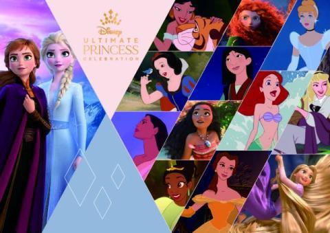 ディズニー・プリンセスの祭典 来年の夏までグローバルに展開