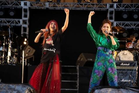 SHOW-YA、無念の無観客開催も『NAONのYAON2021』で熱唱「来年は一緒に『Rock Love』しましょう!」