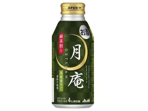 1都4県のセブン‐イレブンでボトル缶チューハイ「アサヒ月庵 緑茶割り」発売