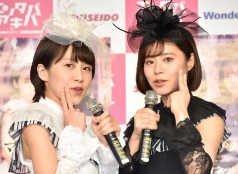 昭和歌謡デュオ・マリオネットがデビュー「目指すはザ・ピーナッツ」