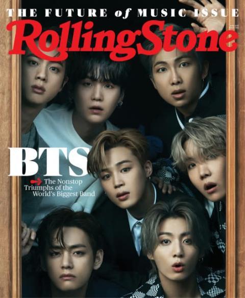 BTS、米老舗音楽誌『Rolling Stone』表紙に アジアグループは創刊54年で初