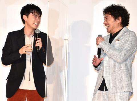 成田凌&トータス松本、『おちょやん』反響に自虐「日本で一番嫌われてる二人」