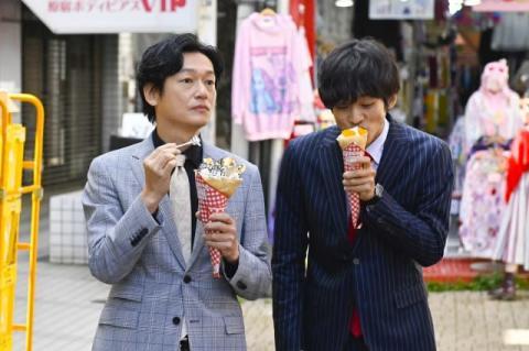 松坂桃李&井浦新が原宿デート 『あのキス』第4話でマシマシクレープ&バックハグ
