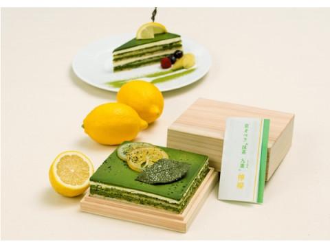 茶農家生まれのパティシエが作る!夏期限定「レモンの抹茶オペラケーキ」発売
