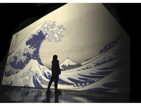 日本美術の歴史的作品が超高精細デジタルアートに!『巨大映像で迫る五大絵師』展開催