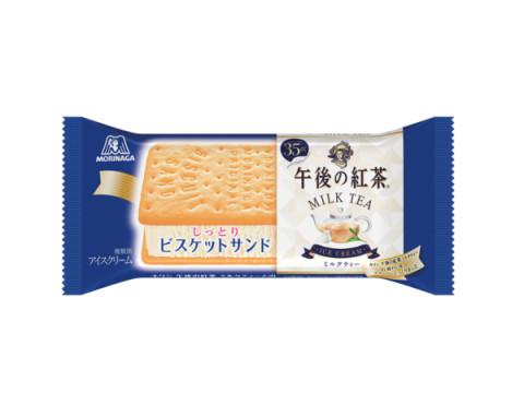 森永製菓「ビスケットサンド」×キリンビバレッジ「午後の紅茶」が初のコラボ!