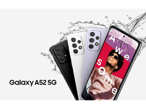 大迫力画面&高音質スピーカー、最新スマホ「Galaxy A52 5G」6月上旬発売