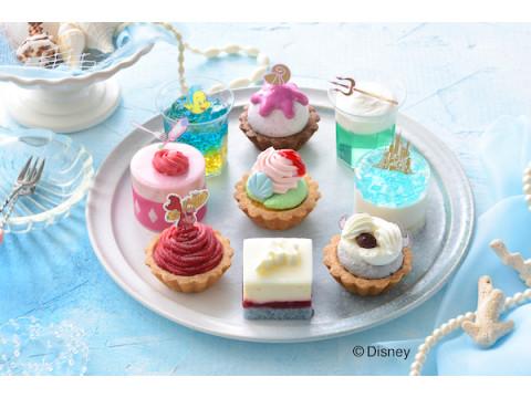 コージーコーナーに「リトル・マーメイド」デザインのプチケーキアソートが登場!