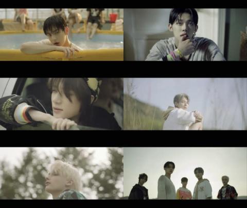 TXT、2ndアルバムリード曲「0X1=LOVESONG」MV公開