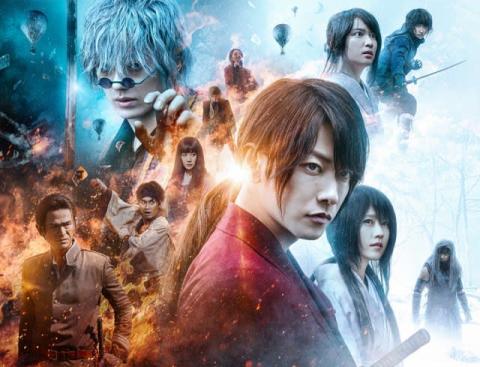 映画動員ランキング:『るろうに剣心 最終章 The  Final』公開6週目にして初の首位