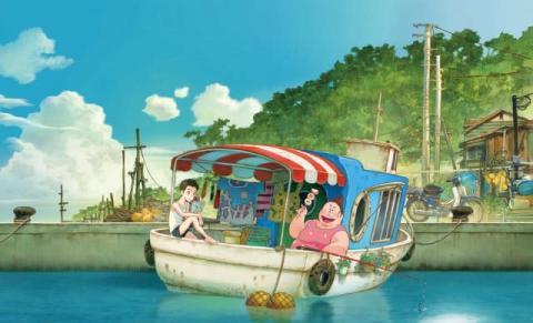 Cocomi&花江夏樹、アニメ『漁港の肉子ちゃん』アフレコ映像