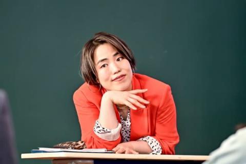"""ゆりやん『ドラゴン桜』で""""ポップな英語講師""""役 「東大専科」のリスニング力を強化"""