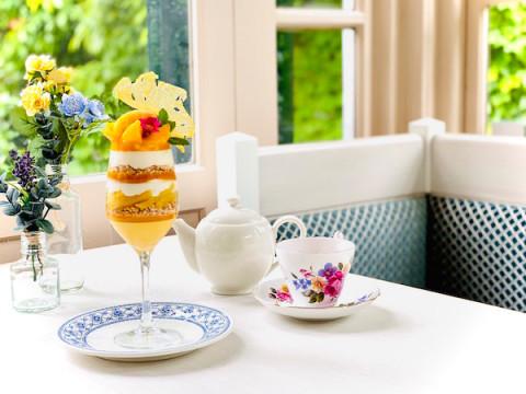 1日10食限定!旧ムーア邸に「宮崎産完熟マンゴーのサマーパフェ」が登場