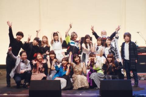 日高のり子、声優&アニソン歌手集結フェス初開催 高橋洋子、angelaら共演