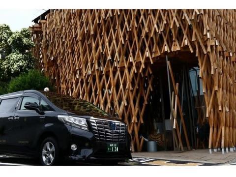 日本交通の観光タクシー「隈研吾 建築ツアー in Tokyo」に期間限定で特別コースが追加