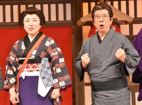 西川きよし、75歳も元気ハツラツ 藤山直美が絶賛「歴史上の人物です」