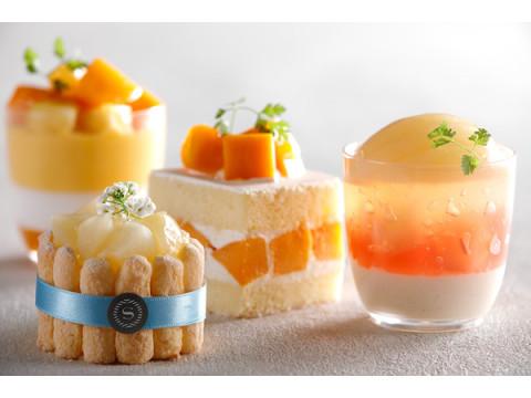 夏のブレイクタイムに!マンゴーと桃をふんだんに使用したスイーツ&パンが登場