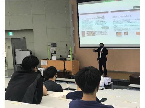 さいたまブロンコスと連携する埼玉工業大学、スポーツマネジメント特別講座を開催