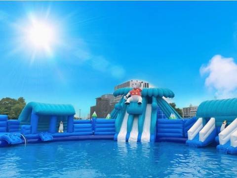 名古屋港に巨大水遊びパーク誕生!「名港スプラッシュガーデン」が夏季限定でオープン