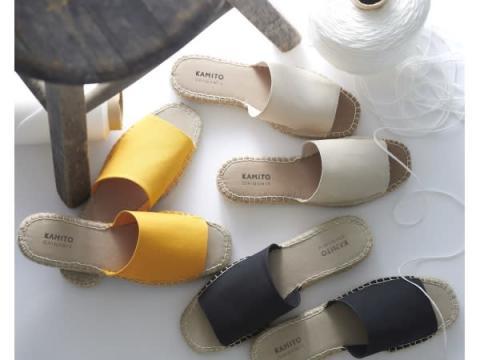 素足でもベタつかず快適な履き心地!和紙素材使用の「エスパドリーユサンダル」が発売
