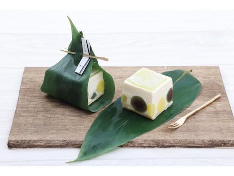 京洋菓子司「ジュヴァンセル」にて笹の葉香るチーズケーキ&新作ゼリーが発売中