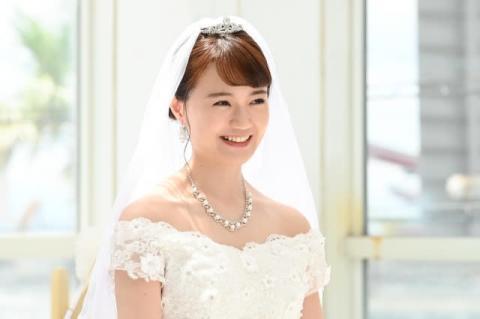 尾崎由香、ウェディングドレス姿を披露 ドラマ『イタ恋』ゲスト出演