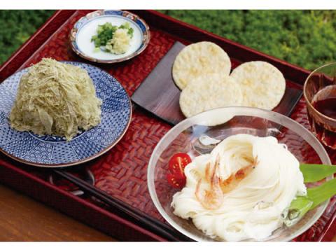 富山県内の特色ある食文化を全国に!「日本海の幸と清流素麵のセット」限定販売
