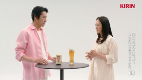 豊川悦司と仲間由紀恵が語るビール愛、「今は育児をしているから」久々のおいしさに感激