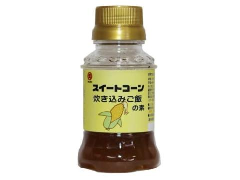 老舗醤油メーカーが兵庫県と連携して作った「スイートコーン炊き込みご飯の素」が発売