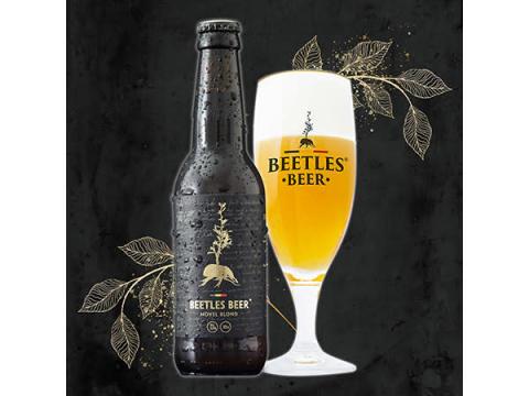 ファーブルと繋がる一杯!虫好きに贈る「昆虫タンパク配合ビール」が日本初上陸