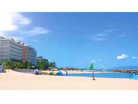 海のアクティビティが大充実!鳥取県「皆生温泉海遊ビーチ」が7/16オープン