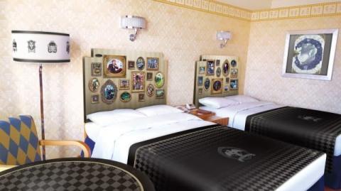"""""""マジカルペン""""型ルームキーで『ツイステ』の世界へ アンバサダーホテルにコラボルーム登場"""
