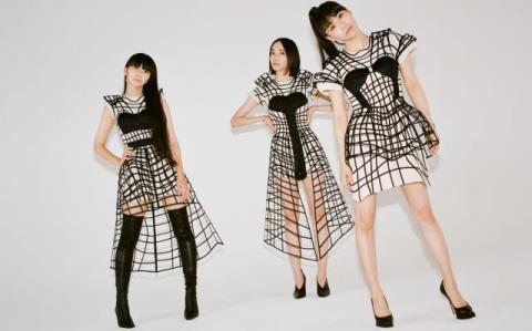 Perfume、『ポリゴンウェイブEP』アートワーク撮影の裏側ティザー公開