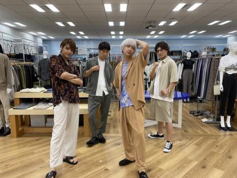 八乙女光×中間淳太×濱田崇裕×森本慎太郎『ヒルナンデス!』でファッション対決