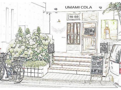 話題の美容・健康クラフトコーラ「UMAMI COLA」初のポップアップストアがオープン!
