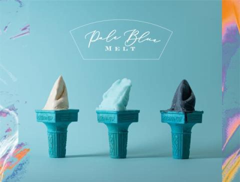 米津玄師の楽曲3曲をジェラートで味わう新体験 期間限定ショップ「Pale Blue Melt」オープン