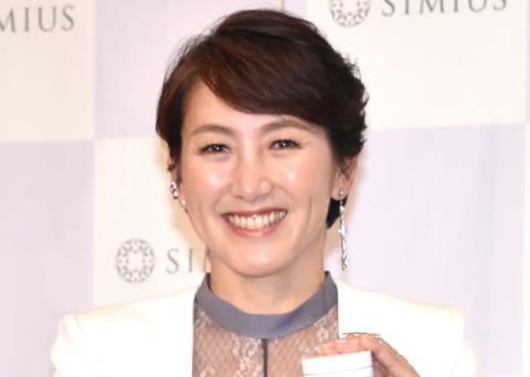 杉山愛、第2子出産後初イベント「この歳で授かれたことがありがたい」