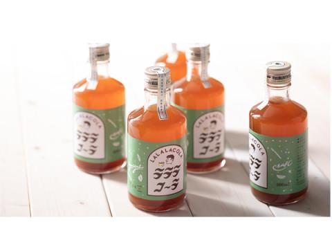 ヤヱガキ酒造から、米発酵エキスを使用したクラフトコーラ「ラララコーラ」が発売中!